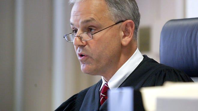 Superior Court Judge David Ironson in Morristown
