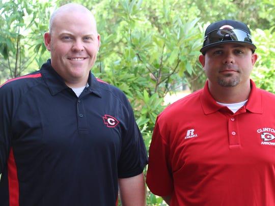 Kyle Nichols (left) and Trave Hopkins
