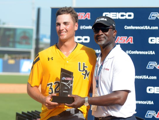 Southern Miss' Matt Wallner is getting used to accepting