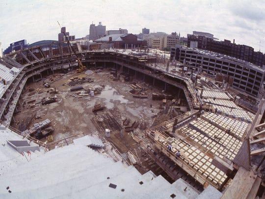 Bradley Center, Seating, Historical, 8/11/87