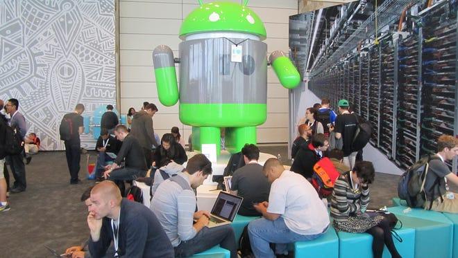 Charging up at the recent Google I/O developer's conference