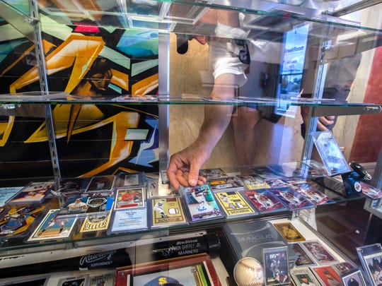 Steve Palmer, owner of BreakRoom Sports Cards & Autographs
