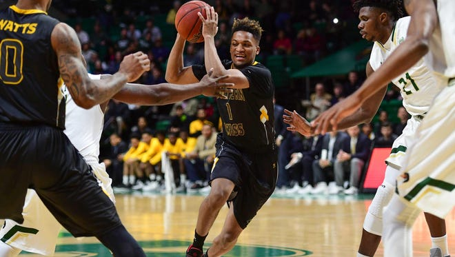 Southern Miss guard Cortez Edwards is one of the Golden Eagles' top returning starters.