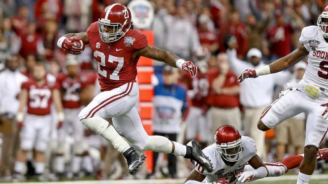 Alabama tailback Derrick Henry is atop CFB 24/7's list of scariest college football player entering the 2014 season.