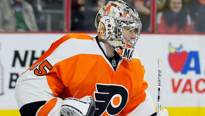 Flyers goalie Steve Mason is on the last year of his contract. So is Michal Neuvirth. They're battling to be the team's starter.