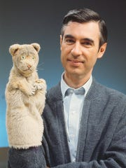 "Fred Rogers and Daniel Tiger are featured in ""Won't You Be My Neighbor?"""