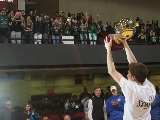 Pleasantville defeated Briarcliff 58-49 to win the Section 1 Class B championship at the Westchester County Center in White Plains March 4, 2017.