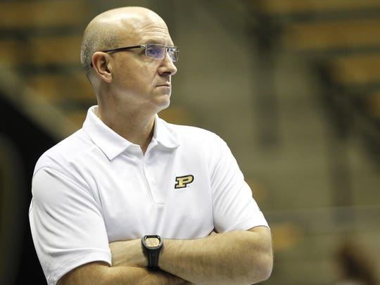Dave Shondell hopes Purdue volleyball's victory at