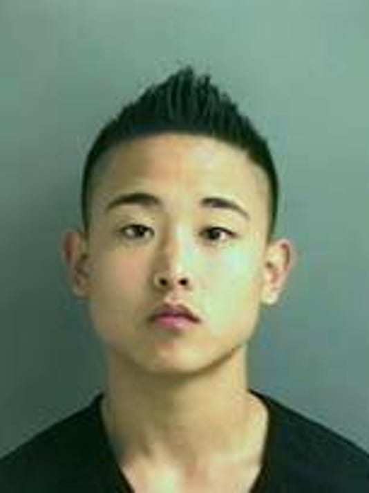 James Kim mugshot.