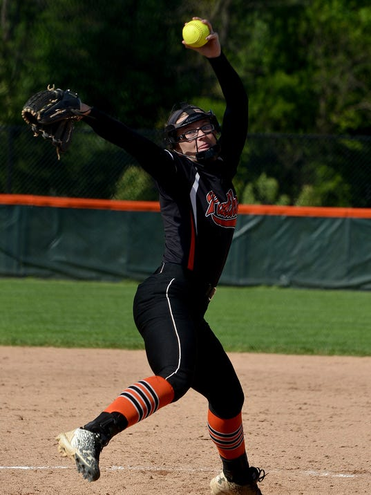 Dallastown vs Central York softball
