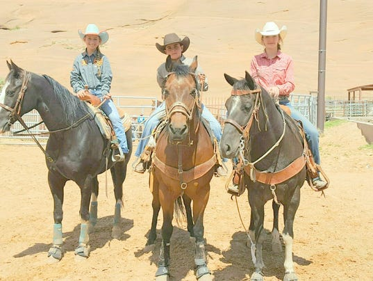 Trio Competes In Junior High School State Rodeo Finals