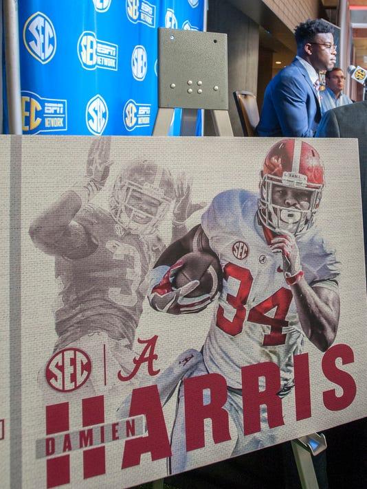 Alabama at SEC Football Media Days