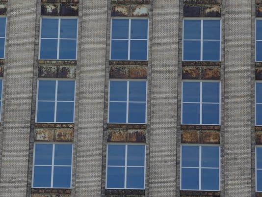 Train station windows