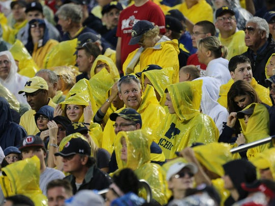 Michigan fans.