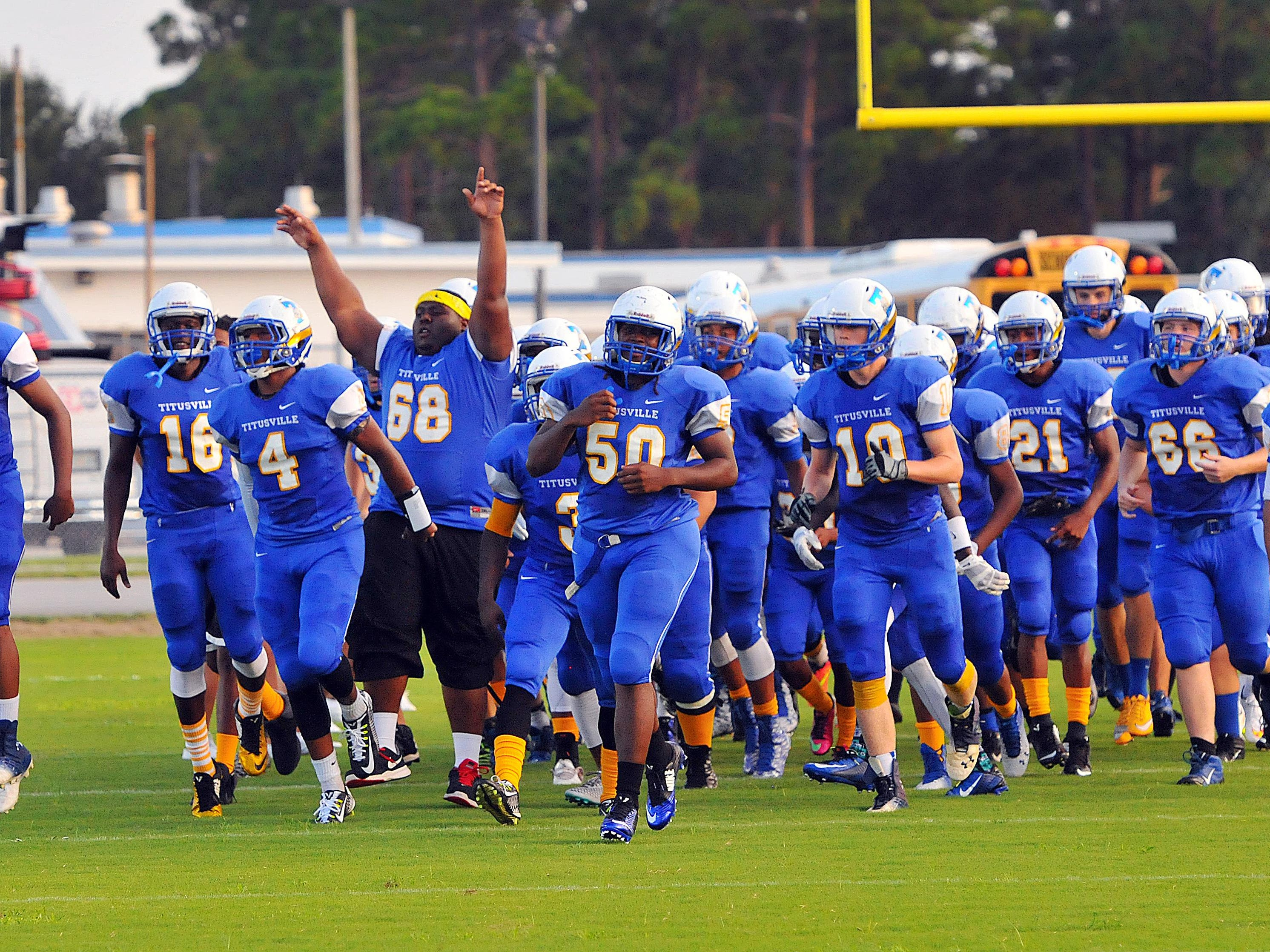 Titusville High visited Lake Brantley on Friday night, falling 40-14.