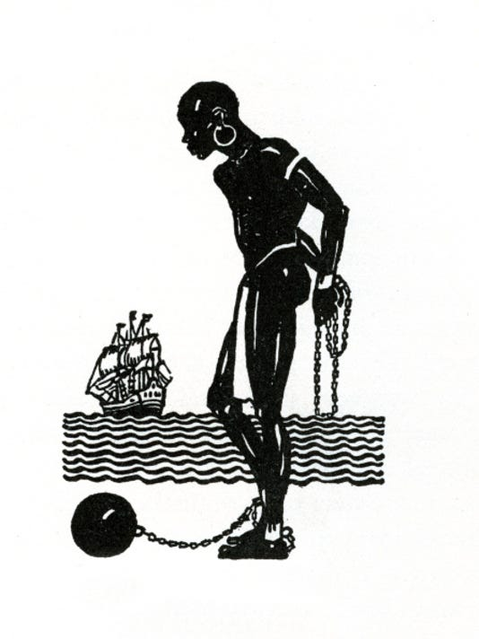 Chained African Slave