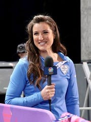 Bree Schaaf will be part of NBC's broadcasting team