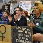 Hundreds attend 'Rally for our Rights'