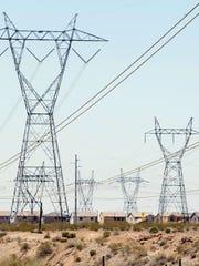 APS power lines.