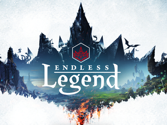 "This screenshot shows a scene from ""Endless Legend."""