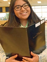 Marisabel Cordova, 17,  a Chambersburg Area Senior High School sophomore, is headed to the PMEA All-State Chorus Festival.