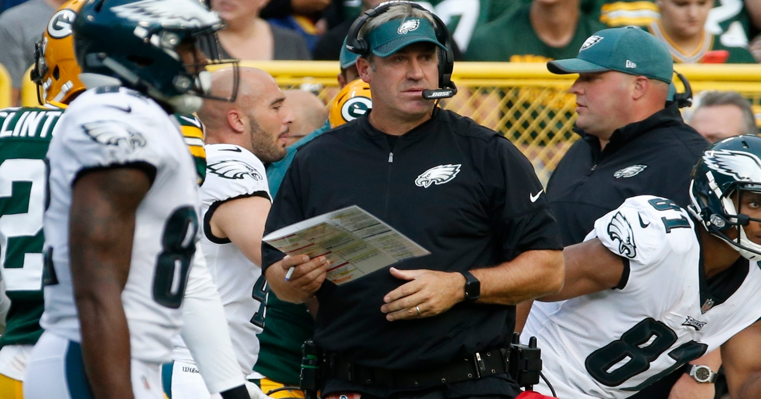7e54761c06a Wentz off to perfect start, but Eagles fall 24-9 to Packers