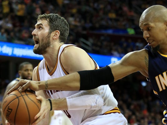 David West, Kevin Love