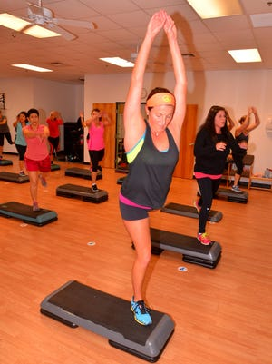 Florida Today's Michelle Mulak Try This. This week Michelle took the Step It Up step class at the Titusville YMCA with instructor Liana Moreno.