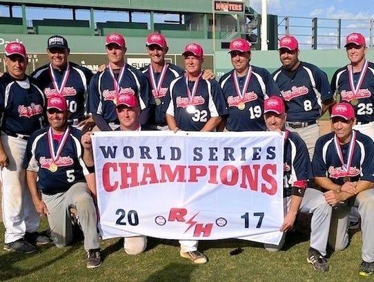 The Jupiter Glory Days over-45 men's baseball team