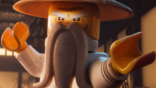 Jackie Chan stars as Master Wu in 'The Master: A Lego Ninjago Short.' The animated film will be seen in theaters ahead of 'Storks.'