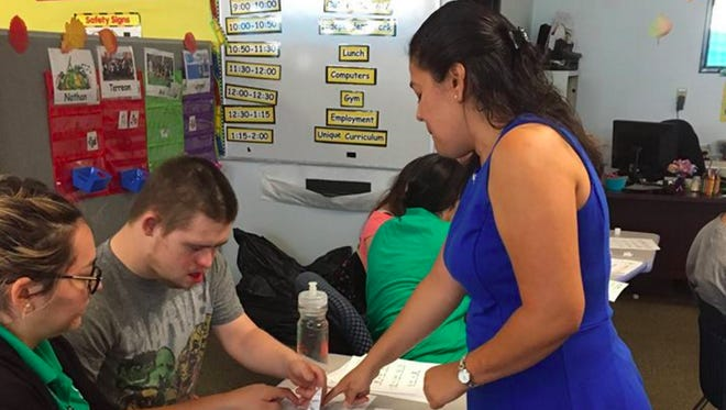 At Gompers in Phoenix, people with developmental disabilities have an array of services available -- services that will be stressed by the new mandatory minimum wage, providers say.