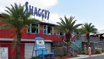 Shaggy's in Biloxi Beach is one of three current Mississippi locations of the laidback eatery. The Ross Barnett Reservoir will be the fourth. There is also a Shaggy's in Pensacola Beach, Florida.