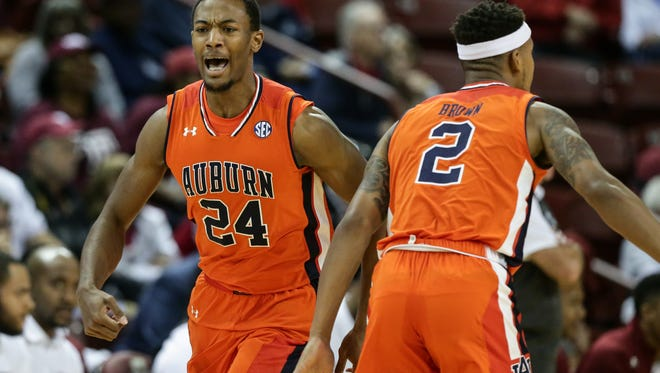 Auburn forward Anfernee McLemore had a team-high 19 points in a 88-74 loss to Temple Owls in Game 5 of the Charleston Classic at TD Arena in Charleston, S.C. on Friday, Nov. 17, 2017.