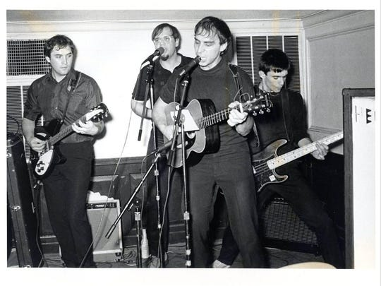 An early shot of the Smithereens: Jim Babjak (left