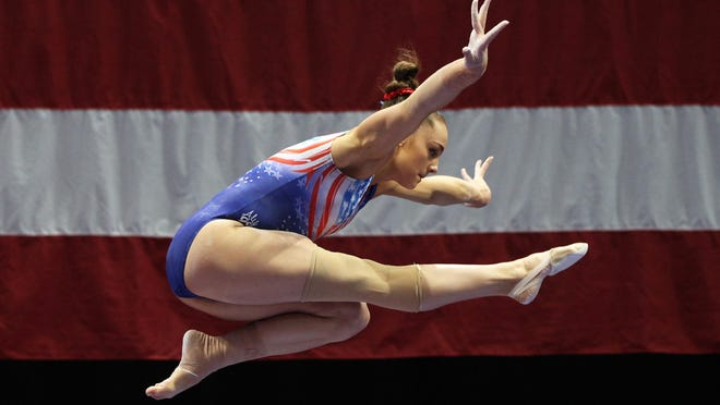 """Maggie Nichols, dubbed """"Athlete A"""" to preserve her anonymity, was among the gymnasts to raise allegations against Larry Nassar, the USA Gymnastics women's team's doctor."""