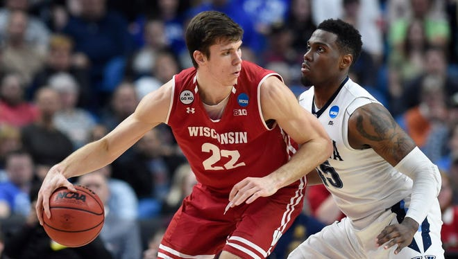 Ethan Happ and the Badgers will host Northern Iowa in a fundraising game on Nov. 1.