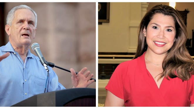 U.S. Rep. Lloyd Doggett, a Democrat, is running for reelection to the seat he has held since 1995. Jenny Garcia Sharon, a Republican, is running against him. [Left: Nick Wagner/ AMERICAN-STATESMAN]