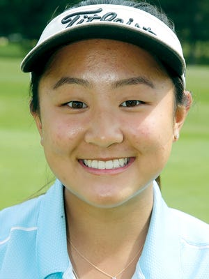 Central Kitsap High School golfer Brittany Kwon won her third consecutive 3A state title Wednesday at Indian Canyon Golf Course in Spokane.