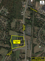 A new senior living facility is being proposed in Brentwood