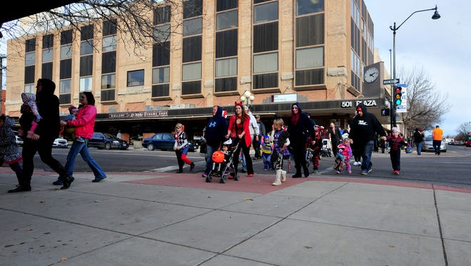 Downtown Great Falls offers safe trick-or-treating on Halloween from 3-5 p.m.