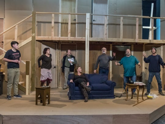 """Pentacle Theatre revives Michael Frayn's """"Noises Off"""" Jan. 20 to Feb. 5. A comedy about putting on a comedy, the theater previously performed the show in 2001."""