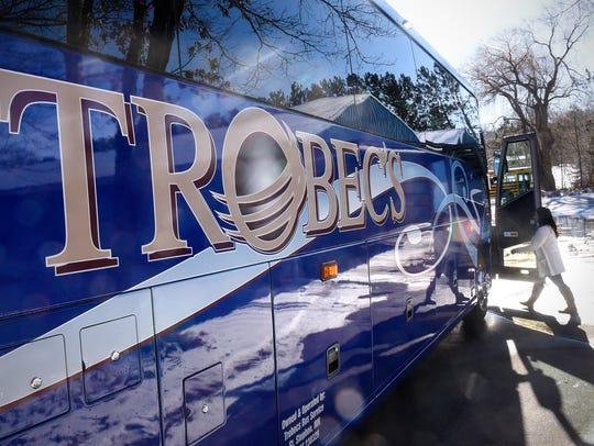 Trobec's Bus Service vice president Bethany Schubert