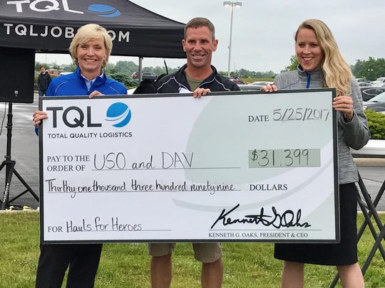 Last year TQL raised over $31,000 in its annual Hauls for Heroes campaign. The money was divided between Disabled American Veterans (DAV) and the United Service Organizations (USO).