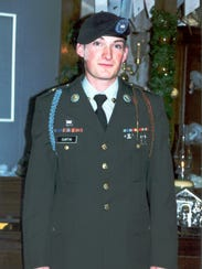 Cpl. Michael E. Curtin graduated from Army basic training