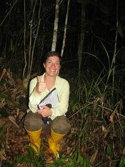 New Mexico State University doctoral student Katie Young is currently in Malaysian Borneo researching mosquito transmitted viruses such as dengue and Zika.