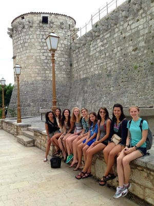 Students from Anderson University spent time exploring ancient ruins in the Croatian city of Rijeka during a 2015 study abroad trip.
