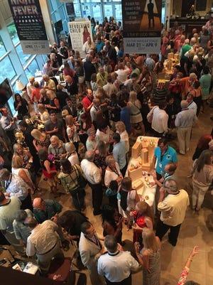 Patrons attend the 2016  Vero Beach Wine + Film Festival at Riverside Theater!