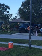 A house fire on Southeast Raintree Avenue Jan. 16,