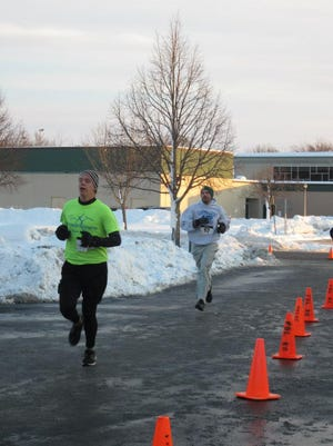 Runners participated in a previous Chilly Chili 5K.