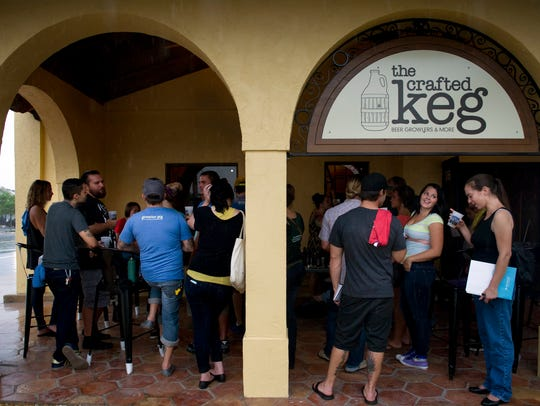 The Crafted Keg in Stuart will celebrate Christmas